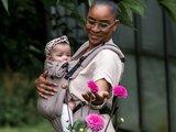 NIEUW! Draagzak Brown Click & Go Baby _