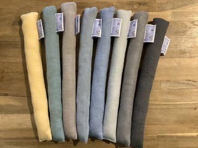 Nekrolletje voor in de geweven draagdoek