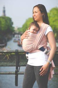 Draagdoek Pure Baby Love perzik
