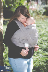 Draagdoek Pure Baby Love Taupe